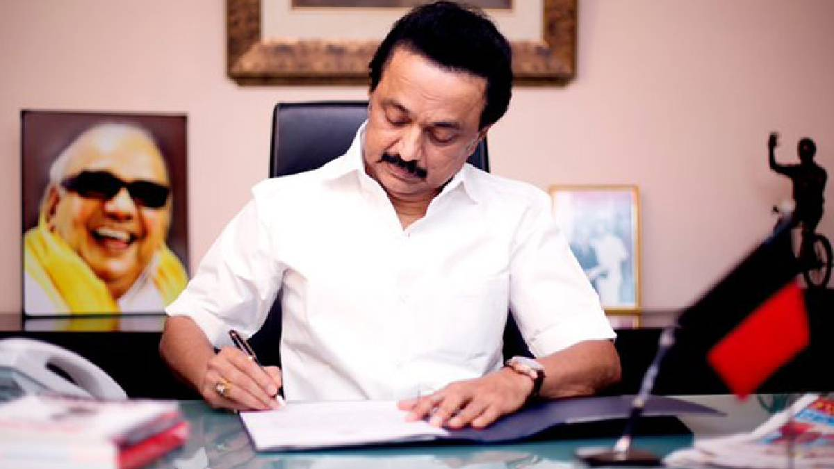 Chief Minister M K Stalin