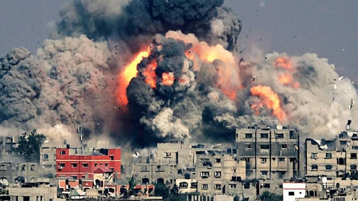 Israel And Palestine conflict: Gaza City commander was killed