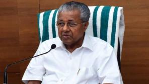 Kerala CM Pinarayi Vijayan