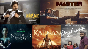 Movie Poster of top listed Films of 2021