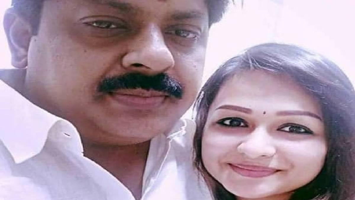 Ex Minister Manikandan With Chandini