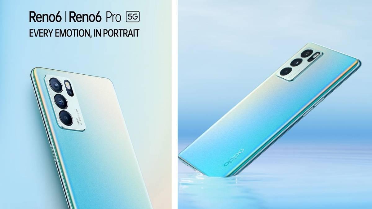 Oppo reno 6 pro 5g Smart Phone