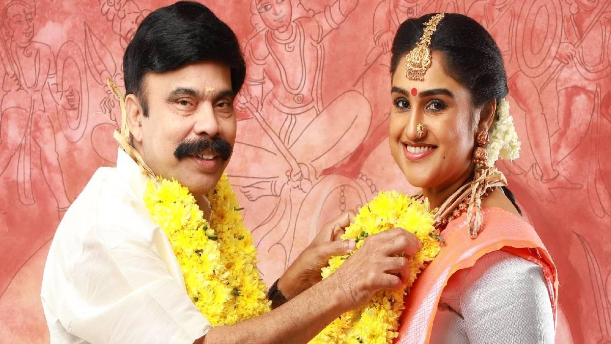 வனிதாவின் புகைப்படத்தை பார்த்து சிரித்த லட்சுமி ராமகிருஷ்ணன்...!!!