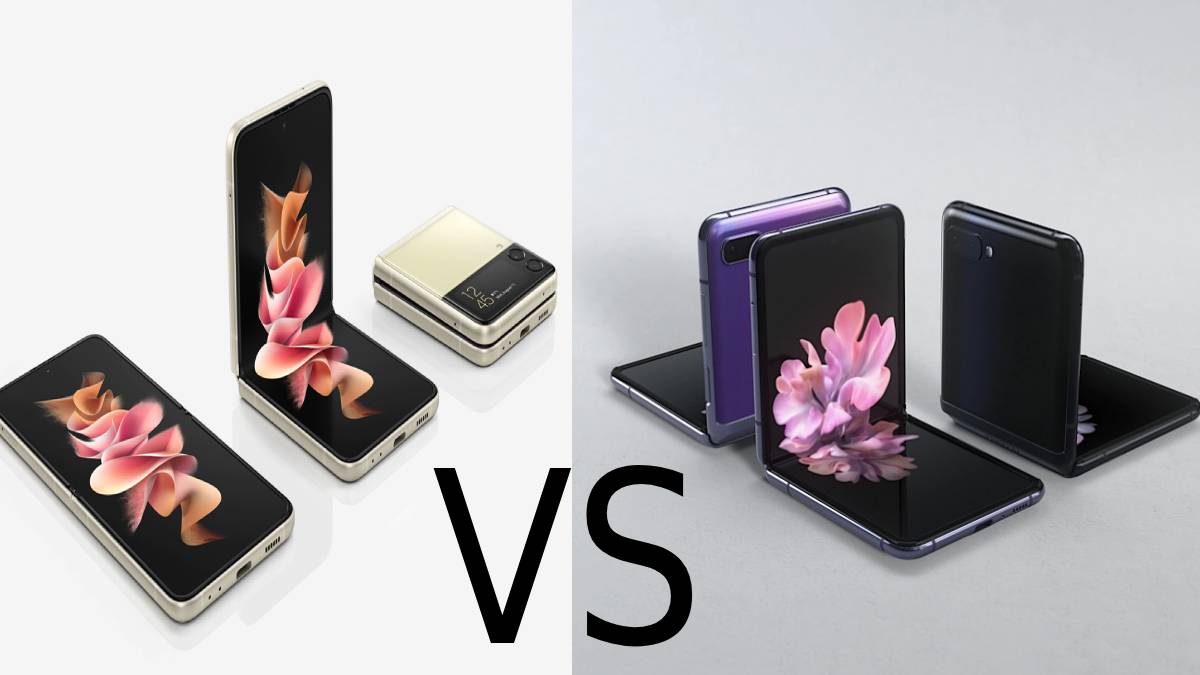 Samsung Galaxy Z Flip3 and Samsung Galaxy Z Flip
