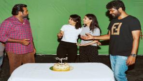 Samantha With Vijay Sethupathi, Nayanthara and Vignesh Shivan