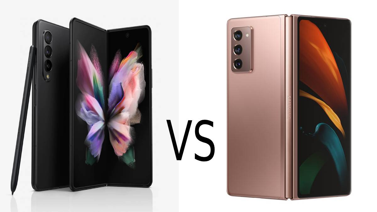 Samsung Galaxy Z Fold 3 and Samsung Galaxy Fold 2