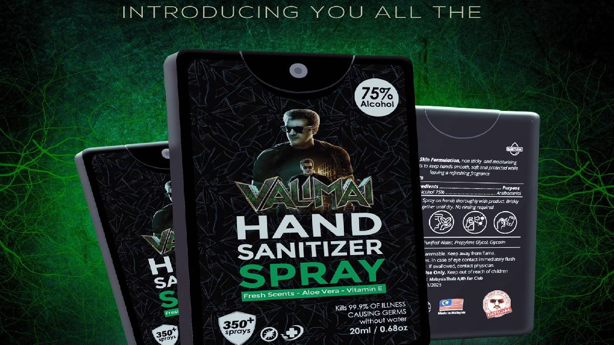 Valimai Hand Sanitiser Spray