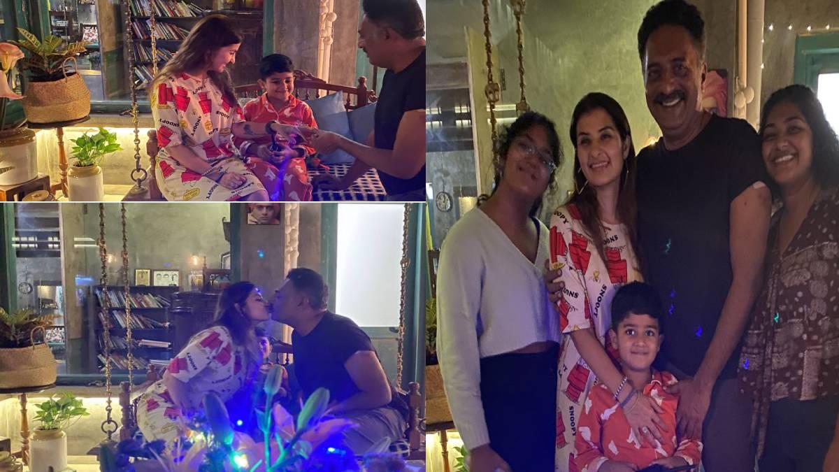 Prakash Raj family
