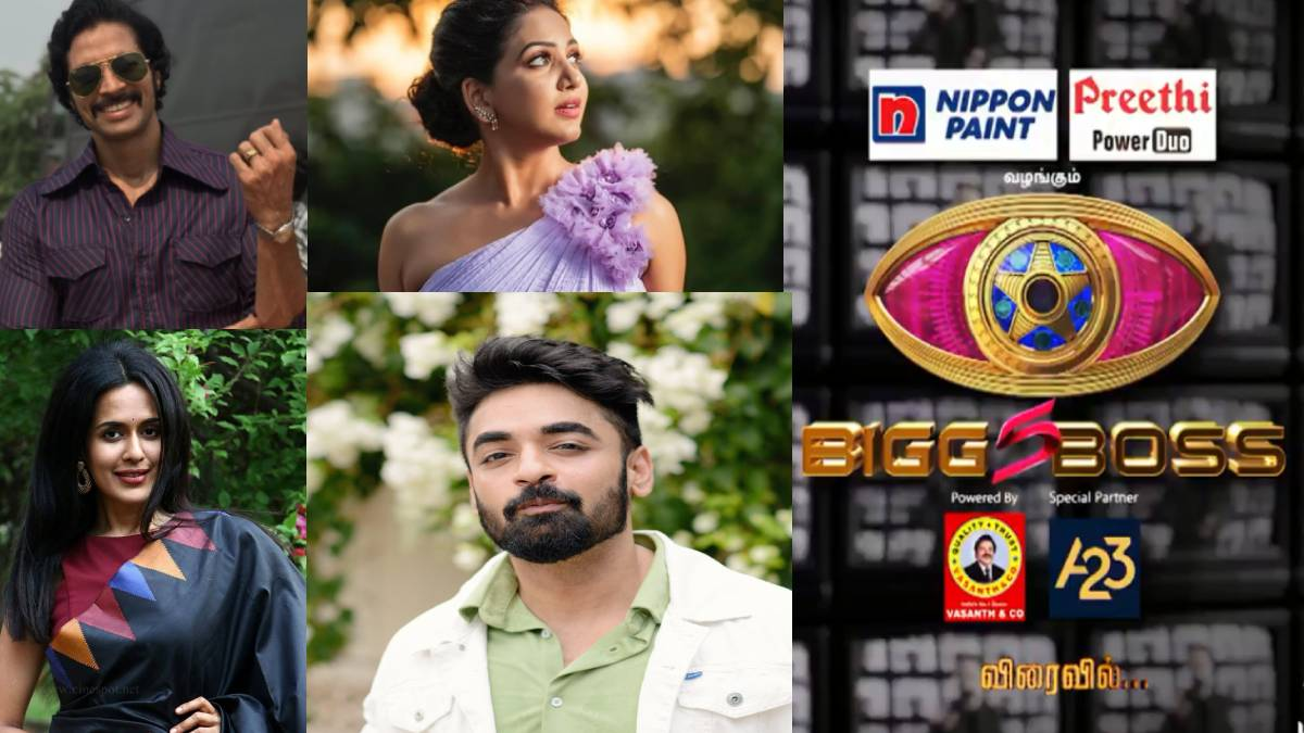 Models Bigg Boss Tamil 5