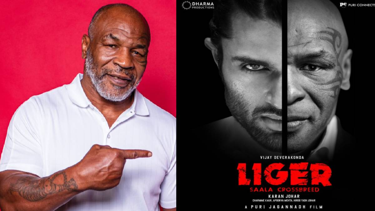Boxing King Mike Tyson In Liger Movie