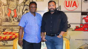 Maran with Producer Adham Bava