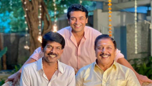Actor Suriya With Director Bala and Actor Sivakumar