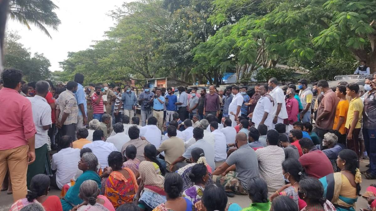 Protest In Masinagudi