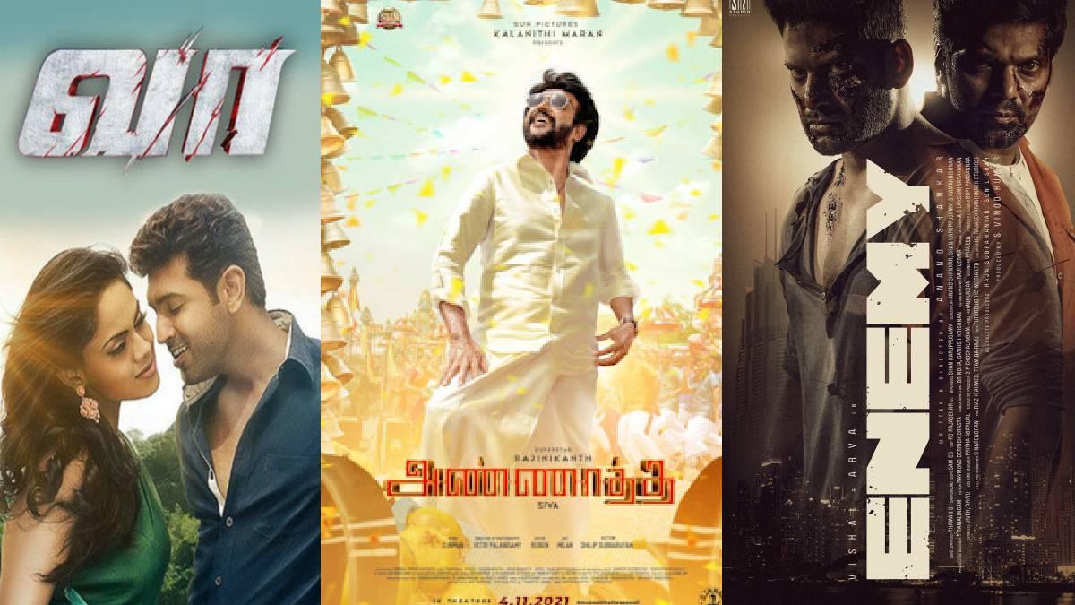 November 20 Diwali 20 Theatrical Release Tamil Movies List